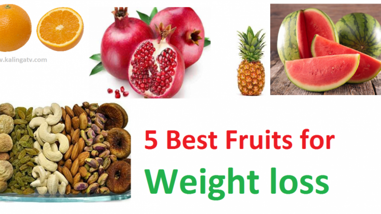 5 Best fruits for weight loss: Weight loss tips