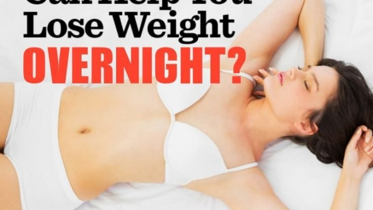 Can You Lose Weight Overnight?