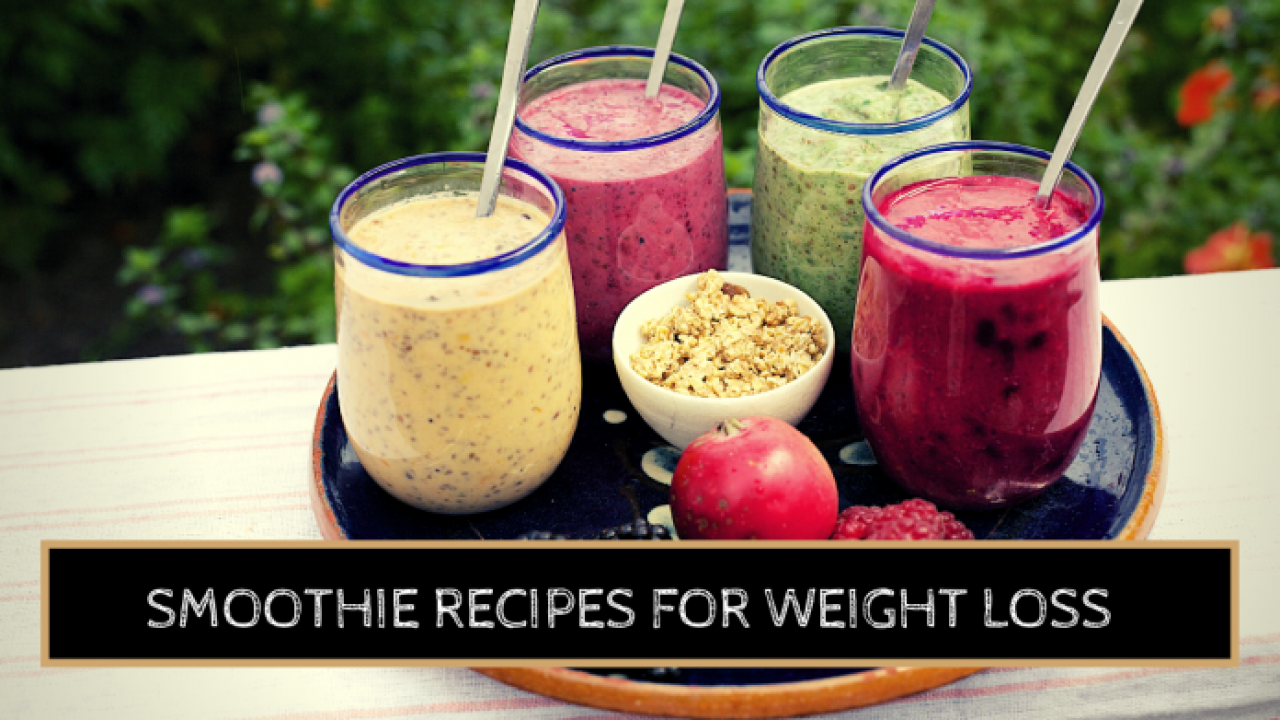 Smoothies At Home Recipes For Weight Loss